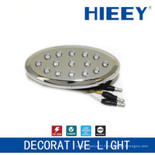 Lampadaire côté LED lampe lampe lampe plaque décorative lampe décorative décoratif avec LED ambre et base ABS
