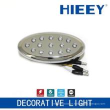 Lâmpada de colocação lateral da lâmpada do marcador do diodo emissor de luz levou a luz decorativa da luz da placa com o âmbar LED e a base