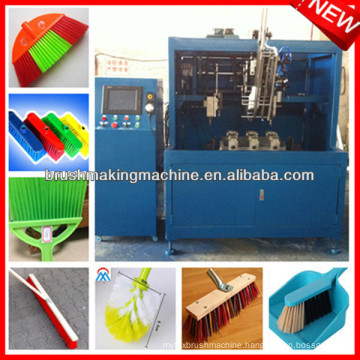 automatic broom manufacturing machine
