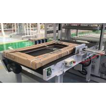 Holz- / Bodenverpackungsmaschine Holzballenpresse