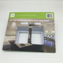 Diseño de cajas de papel de empaquetado vacío al por mayor de la cartulina