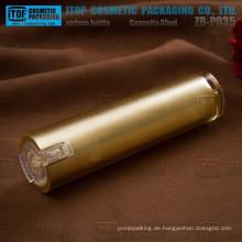 ZB-PQ35 35ml spezielle klar Lotion gute Qualität leichte Kegel Runde Acryl airless Pumpflasche