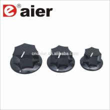 MF-B00 plastique cannelé 'MXR' style coloré pointeur bouton boutons plastique potentiomètre