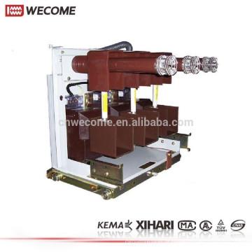 KEMA a témoigné l'interrupteur à moyenne tension de l'appareillage 12KV de débranchement
