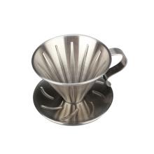 Dripper À Café En Acier Inoxydable - Taille 2