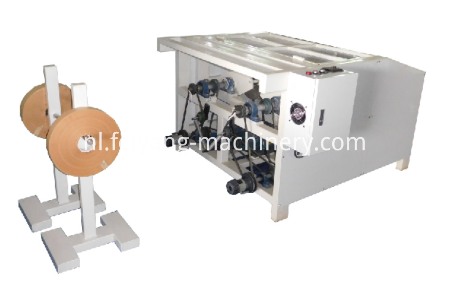 twisted paper rope making machine