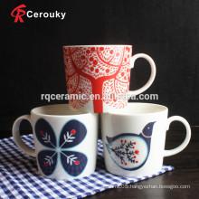 New bone china ceramic coffee tea milk mug