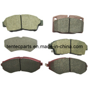 Front Axle Non-Asbestos and Top Quality Brake Pad Peugeot 405