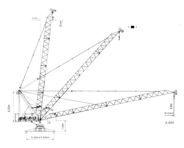 Roofing Crane