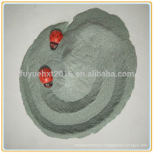 green and black Silicon Carbide/Carborundum grit particle