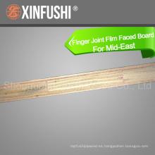 18mm Finger Joit hizo frente a la madera contrachapada hecha en China