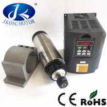 1.5kw 2.2kw water / air cooling automatic tool change spindle motor