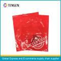 Bolsos de compras delicados del mango del plástico del diseño PE