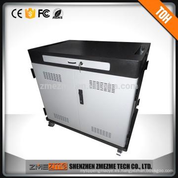 Carrito de carga de almacenamiento y gabinete para computadora portátil / tableta