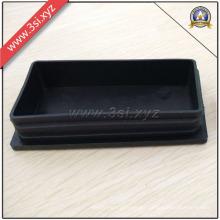 Inserciones de tubo rectangulares de plástico profesional y enchufe de patas de silla (YZF-H140)