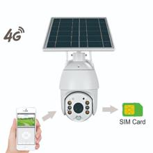 Câmera de segurança solar externa versão 1080P 4G