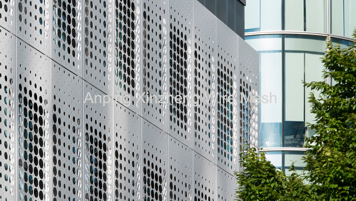 Perforated Mesh Facade