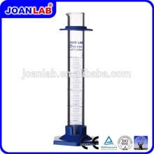 Джоан лаборатории высокого качества стеклянный Градуированный цилиндр с поставщиком пластиковое основание