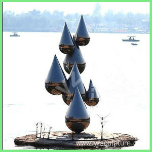 Outdoor Garden Stainless Steel sculpture