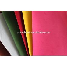 Флокирование Арт бумага для скрапбукинга использования