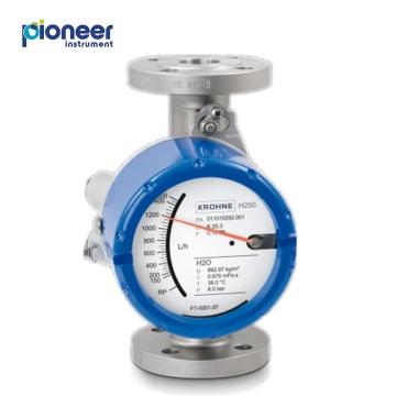Débitmètres à section variable pour tubes métalliques et tubes en verre Krohne