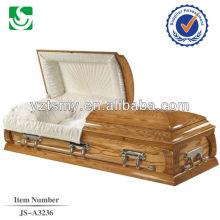 Amerikanische Kremation Sarg Montage Bild Sarg