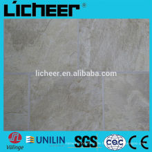 Indoor-Laminat-Bodenbelag Hersteller China einfaches Klicken Laminatboden EIR & Marmor Oberfläche Kunststoff-Bodenbelag