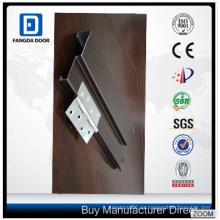 Marco de puerta de acero de Panel clásico 6