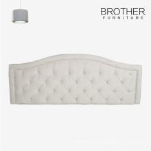 Tête de lit lit moderne arabe d'hôtel de taille avec tufting