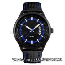 Nouvelle montre de quartz de style de 2016, montre en acier inoxydable de mode Hl-Bg-186