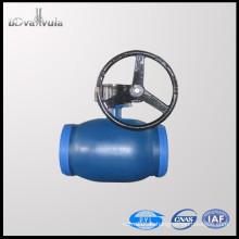 PN25 Kugelhahn Kohlenstoffstahl Wasser Schweißkugelhahn DN15-300 pyl