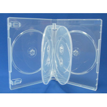 22mm Clear Custom 6-DVD Holder Wholesale