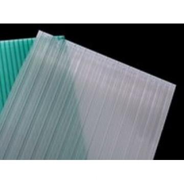 Painel de folha de PC de policarbonato de alta qualidade com UV para carport