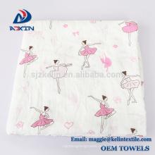 Perfektes Baby-Dusche-Geschenk Ultra Soft Musselin Decke wiederverwendbare Musselin Swaddle Decken