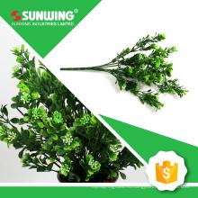 Китай поставщик дешевые небольшие искусственные искусственные листья для украшения интерьера