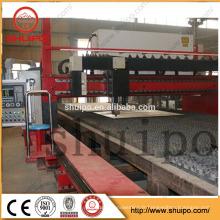 Découpeuse de haute qualité de laser de tôle de fibre de commande numérique par ordinateur / laser 1000W de fibre pour l'aluminium