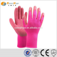 13 Gauge nylon knit rose garden gloves