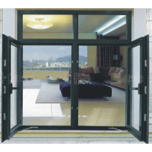 Foshan Woodwin Double fenêtre en verre trempé en aluminium