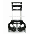 two wheels Steel & Aluminum adjustable telescopic Folding Hand Truck,scalable fold hand trolley wagon