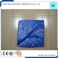 Waterproof Blue Tarp Sheet for Temporary Waterproof Building