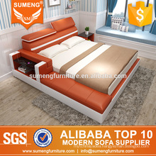 SUMENG Italian modern bedroom furniture set with USB Charges