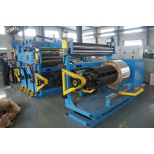 Low voltage foil winding machine for transformer making