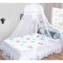 Moustiquaire à lits circulaires pour filles