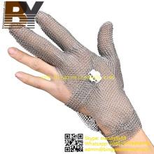 Chainmail Butcher Handschuhe aus rostfreiem Stahl Mesh Cut Resistant Handschuhe