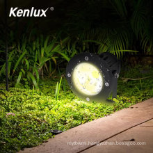 Aluminium housing lawn light led spike spot light