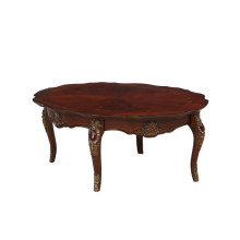 High end solid wooden antique carving living room sofa center table