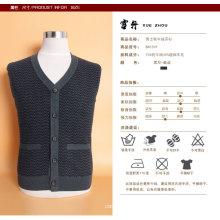 Yak Wolle / Cashmere V-Ausschnitt Strickjacke Langarm Pullover / Kleidung / Kleidung / Strickwaren