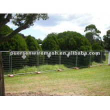 mobile hot dipped galvanized temporary fence