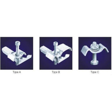 hot dip galvanized grating clips,fixing steel grating clip, galvanized grating clamps