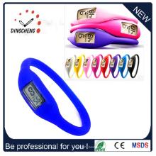Дешевые силиконовые светодиодные часы, силиконовые спортивные часы (ДК-305)
